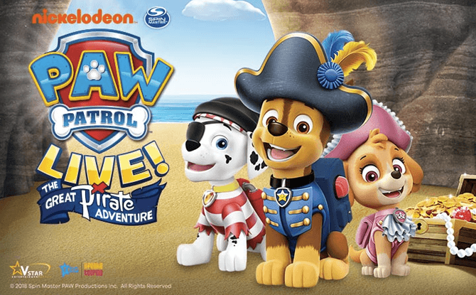 PAW Patrol Live The Great Pirate Adventure 1
