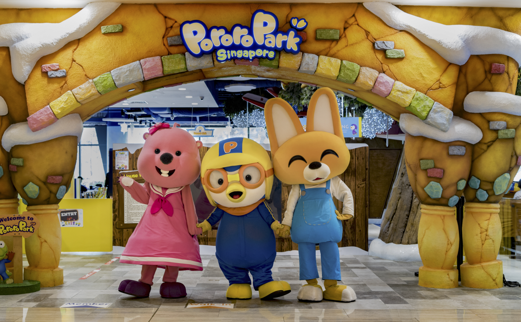 Pororo Park Singapore - Indoor Playground at Marina Square