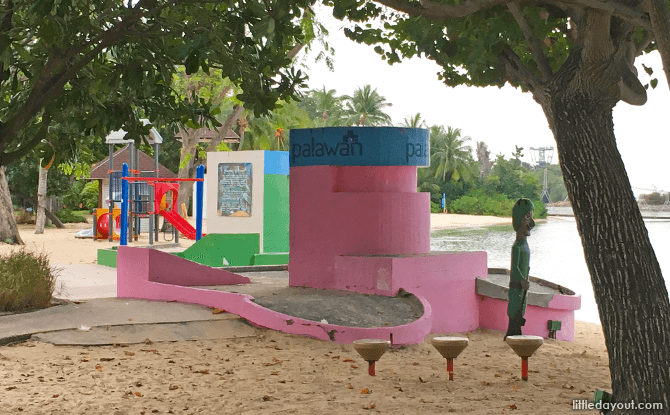 Pillbox, Palawan Beach, Sentosa
