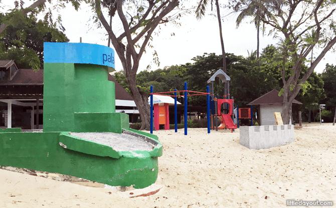 Pillbox, Palawan Beach, WW2 Sites in Singapore