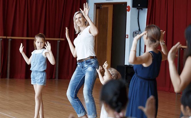 Parent-Child Workshop – Basic Indian Dance