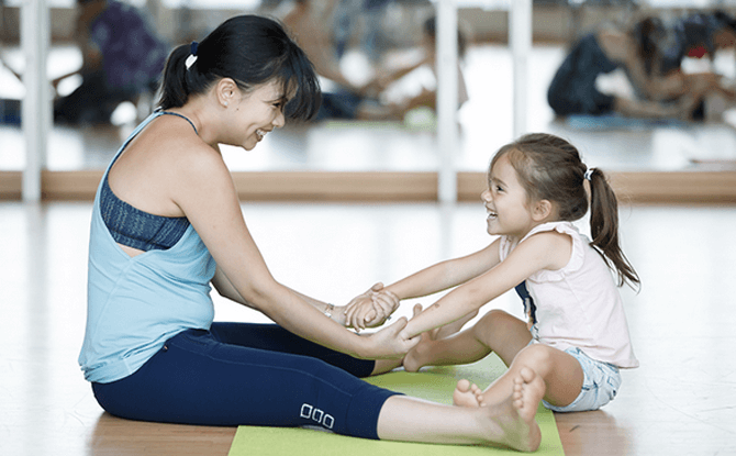 Parent-Child Workshop – Basic Yoga