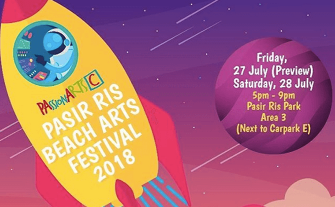 Pasir Ris Beach Arts Festival 2018: Neverland