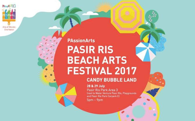 Pasir Ris Beach Arts Festival 2017