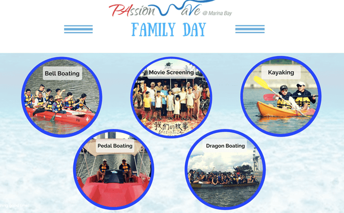 Passion Wave Family Day