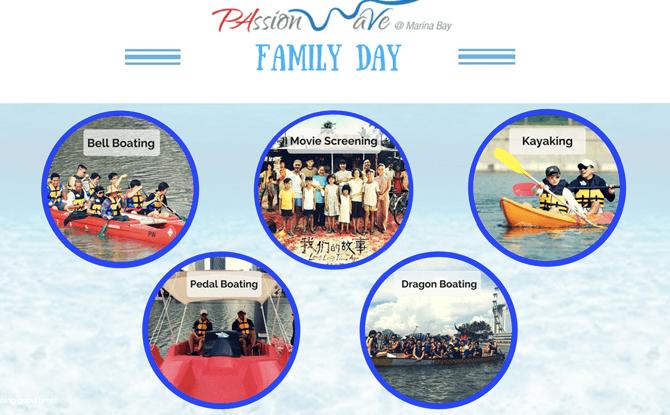 Family Day at PAssion WaVe @ Marina Bay