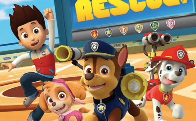 """PAW Patrol 'Live' Stage Show – """"Pups To The Rescue"""""""