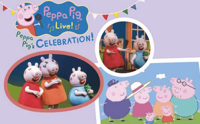 Peppa Pigs Celebration 1