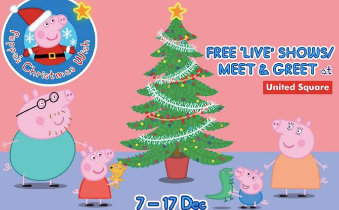 Peppa's Christmas Wish at United Square