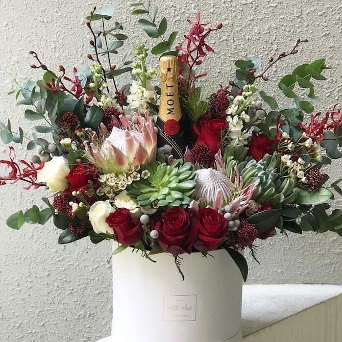 Petite Fleur flower bouquet