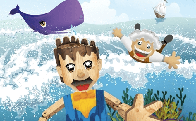 Pinocchio : A Whale of A Tale!