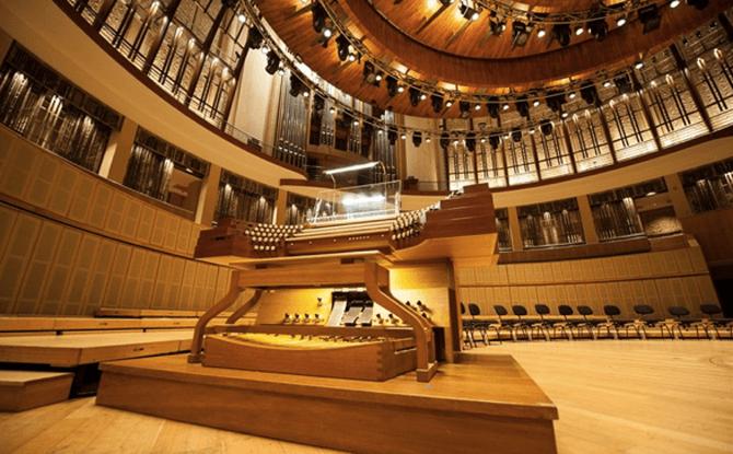 Esplanade pipe organ