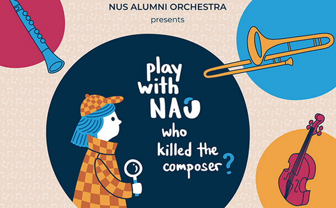 Play With NAO: Who Killed The Composer?