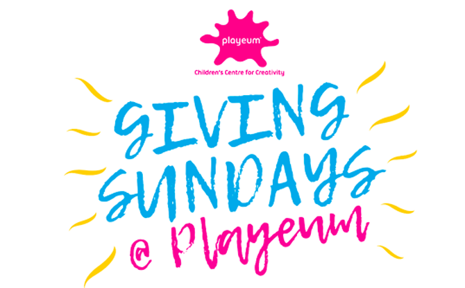 Playeum Giving Sundays 1