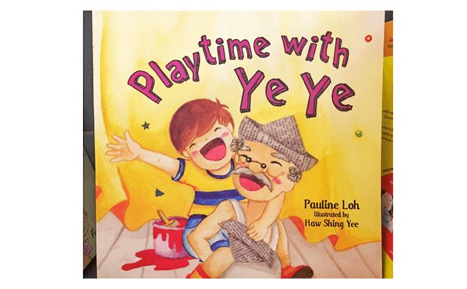 Playtime with Ye Ye book