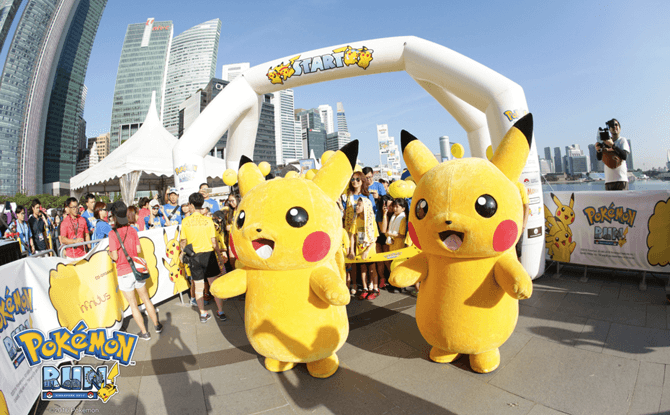 Pokemon Run 2018