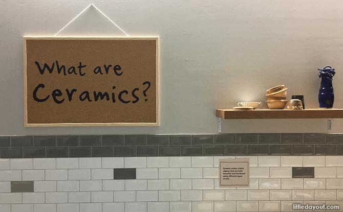 Ceramics Sign