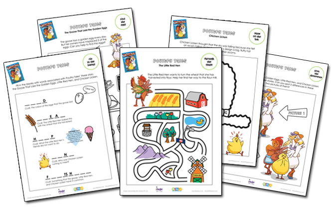 Poultry Tales Activity Sheets