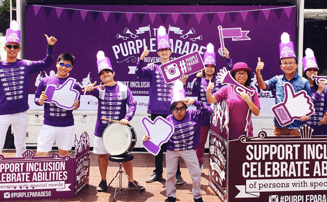 Purple Parade Singapore special needs
