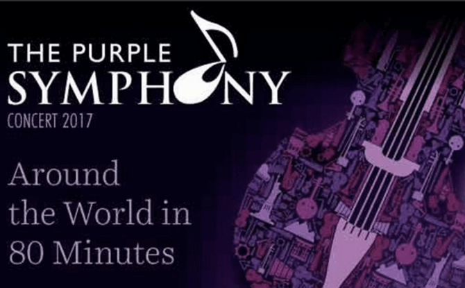 The Purple Symphony – Around the World In 80 Minutes