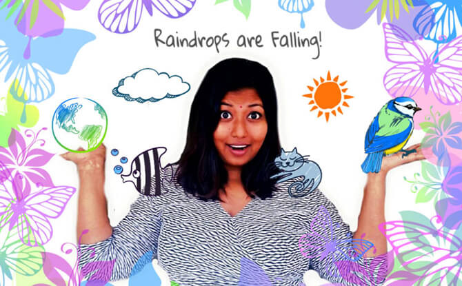 Raindrops Are Falling!