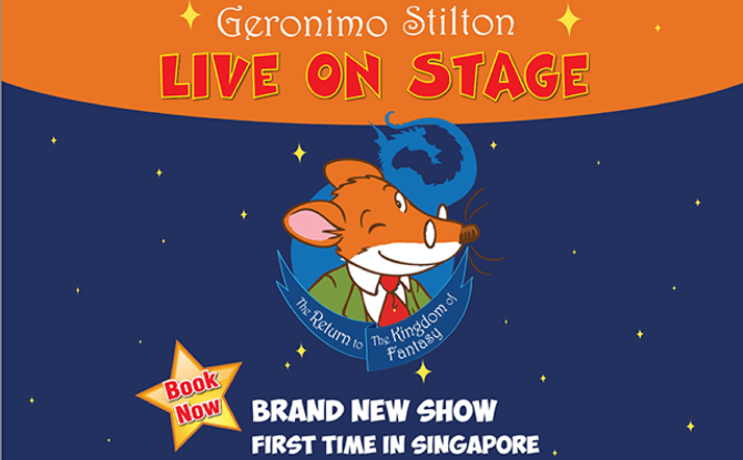 Geronimo Stilton Live - The Return of the Kingdom of the Fantasy [Cancelled]