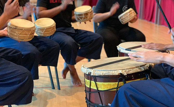 Rhythms of Fatih – A Malay Percussions Workshop (Parent-Child)