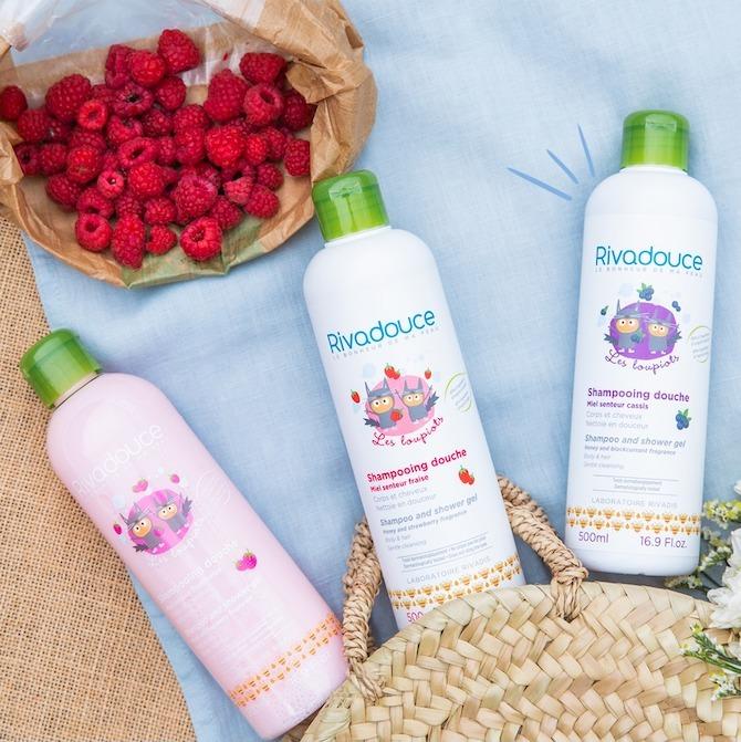 Rivadouce Bebe shampoo shower gel