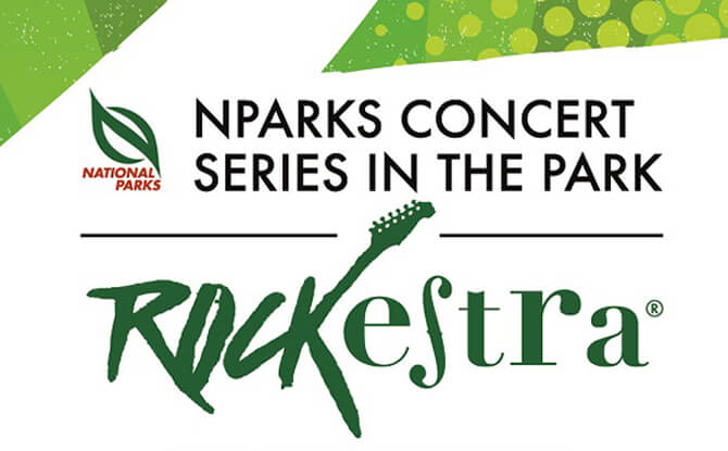 NParks Concert Series in the Park: Rockestra®