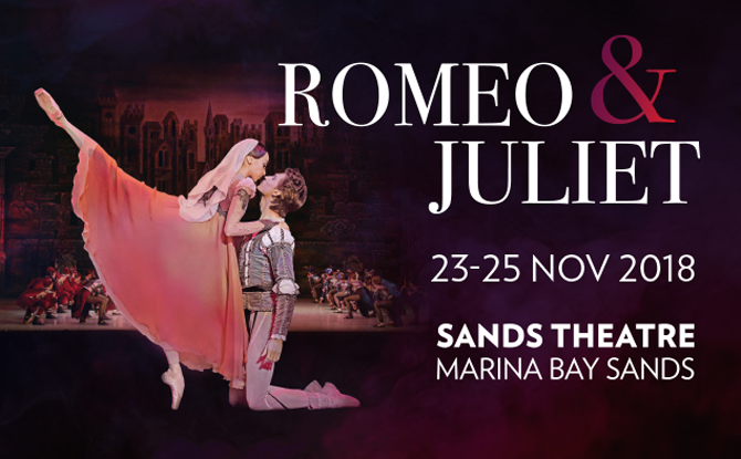 Romeo and Juliet presented by Russian State Ballet of Siberia