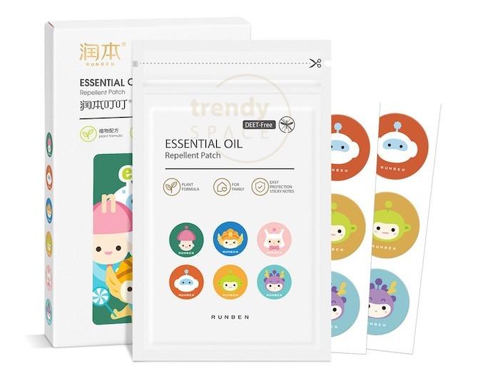 Runben Essential Oil Repellent Patch