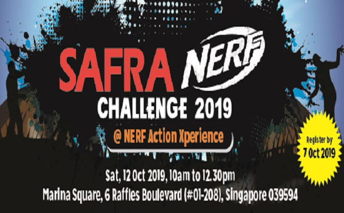 SAFRA NERF Action Xperience Challenge 2019