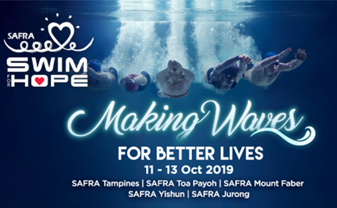SAFRA Swim For Hope 2019