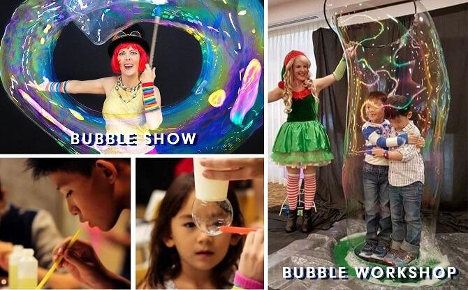 SAFRA Tampines bubble workshop