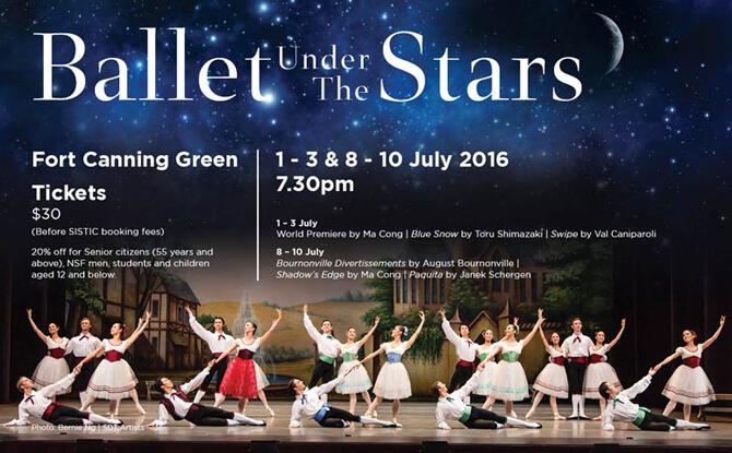 Singapore Dance Theatre Ballet Under the Stars