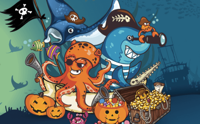 SEA Aquarium Spooky Seas