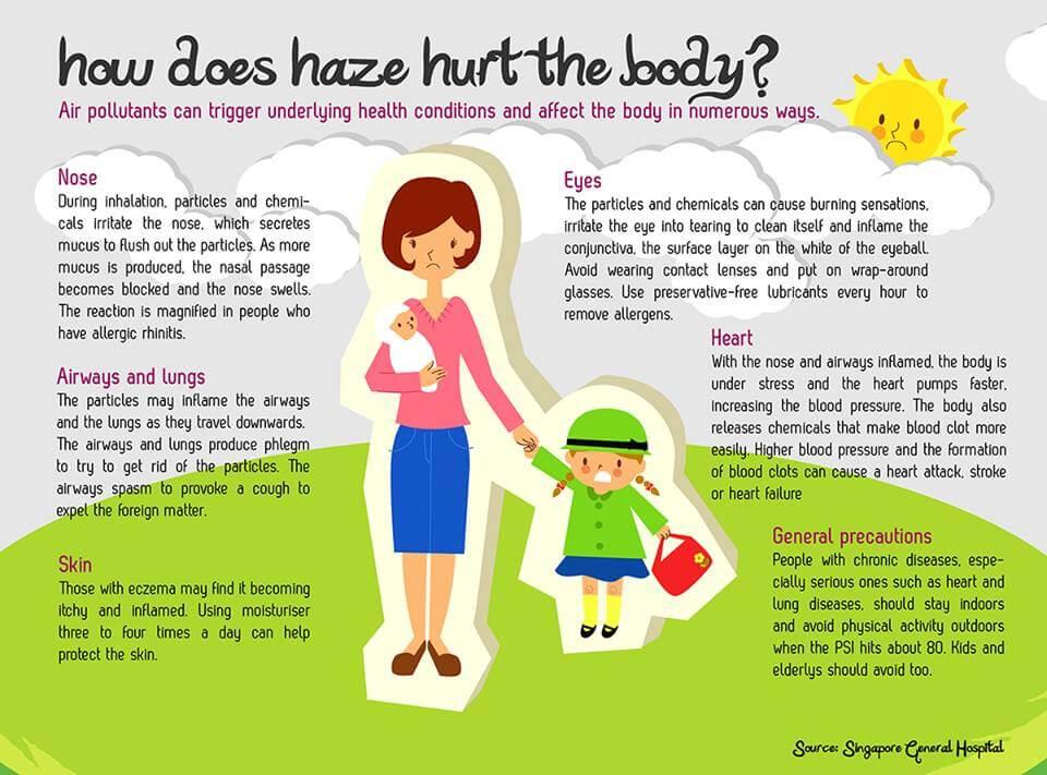 How Does Haze Hurt