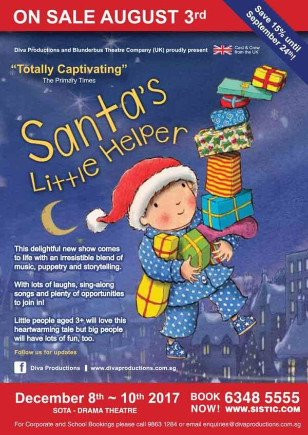 Santa's Little Helper Flyer