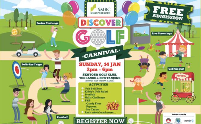 SMBC Singapore Open Discover Golf Carnival
