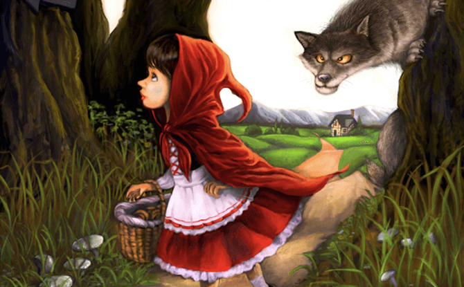 SRT Little Red Riding Hood