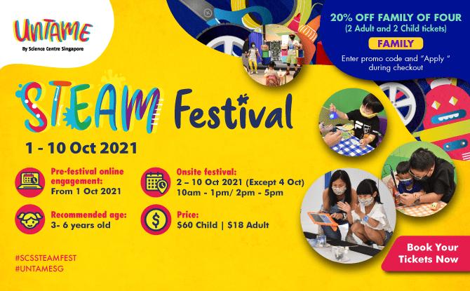 UNTAME: STEAM Festival At KidsSTOP™