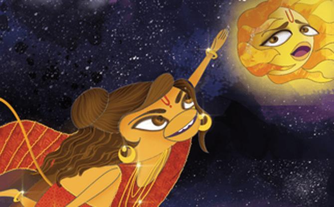 SWF3 Hanuman Krishna storytelling