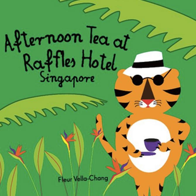 SWF3 Afternoon Tea At Raffles Hotel
