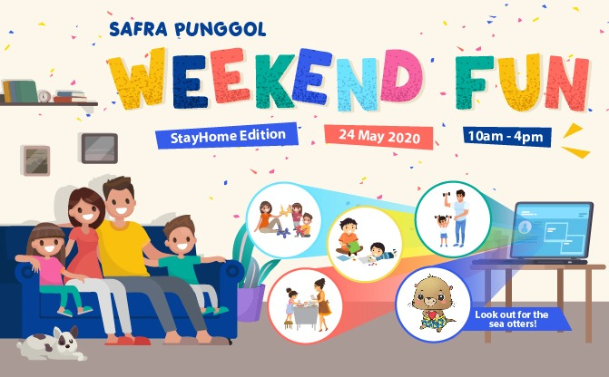 SAFRA Punggol Weekend Fun (StayHome Edition)