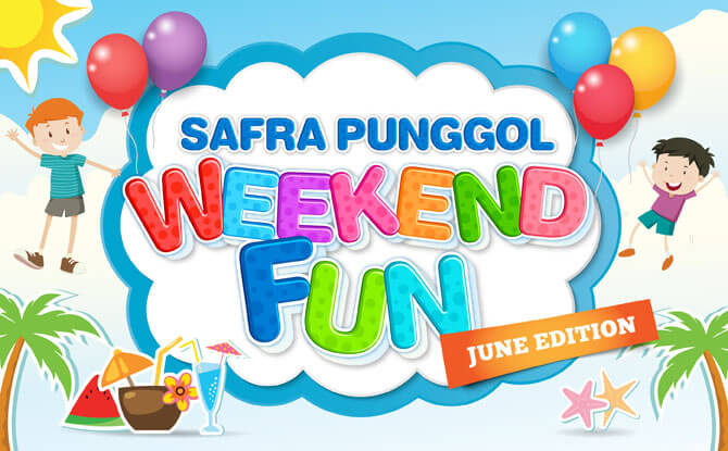 SAFRA Punggol Weekend Fun - June Edition