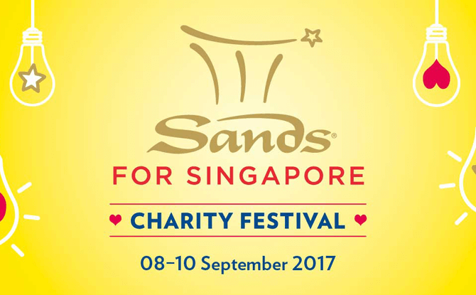 Sands for Singapore Charity Festival 2017