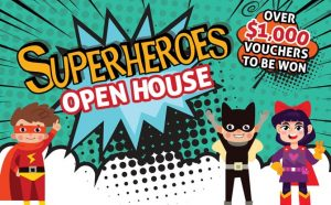 School House by the Garden's Superheroes Open House