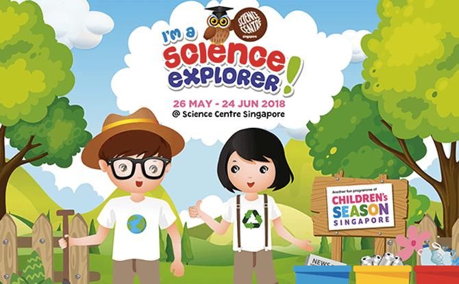 I'm a Science Explorer – Children's Season 2018