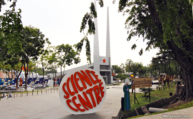 Changes To Science Centre Singapore & KidsSTOP's Admission Capacity & Operating Hours