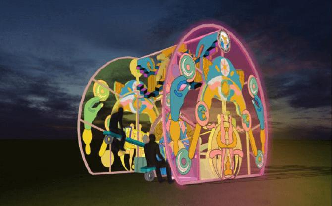 Sentosa Island lights 2019 Candy Quartz 1
